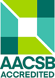 AACSB logo accredited